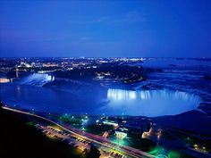 Niagara falls USA/Canada border.