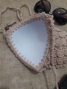 Fabulous Crochet a Little Black Crochet Dress Ideas. Georgeous Crochet a Little Black Crochet Dress Ideas. Crochet Bikini Pattern, Crochet Bikini Top, Crochet Blouse, Crochet Patterns, Mode Crochet, Diy Crochet, Crochet Crafts, Crochet Tops, Diy Crafts