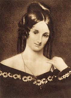 Mary Shelley. Biblioteca Nacional, Madrid