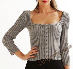 Пуловер (ж) 17*19 Cheval Blanc №4653