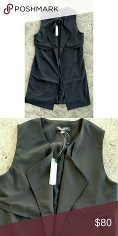 """NWT Romeo & Juliet couture duster vest. Small NWT Romeo & Juliet duster vest. Size Small Length 36"""" Armpit to armpit 19"""" Romeo & Juliet Couture Jackets & Coats Vests"""