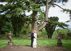 Confetti Magazine Irish Wedding Venue of the Month June - Tankardstown House Wedding Catering, Wedding Venues, Wedding Photos, Irish Wedding, Garden Sculpture, Wedding Dresses, Outdoor Decor, House, Confetti