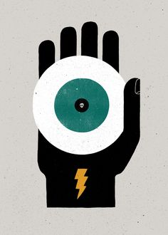 "Unusual Words Rendered in Bold Graphics. Great work. This one is ""Jettatura - The casting of an evil eye."""