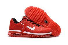 brand new b3a2a 0b956 1884   Nike Air Max 2017 Herr Varsity Röd Vit SE788354eXRrz Nike Air  Vapormax, Mens