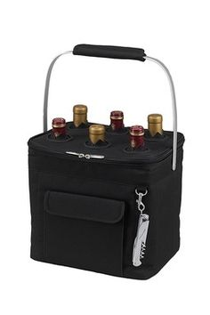 Multi Purpose 24-Can Beverage Cooler - Black