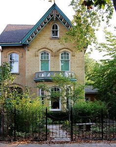 Victorian house in Cabbagetown
