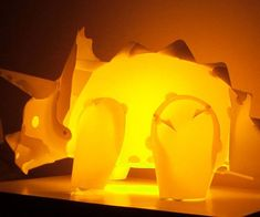 Triceratops Lamps