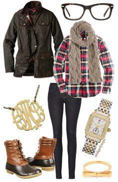 7 preppy outfits for fall and the items to create them