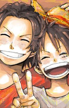 Ace and Luffy | One Piece