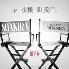 """NAVY, Are you ready? """"Can't Remember To Forget You"""" w/ Shakira coming 1.13.14"""