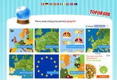 Toporopa gry edukacyjne: Geografia Europy Active Listening, Listening Activities, Interactive Whiteboard, Train Your Brain, Educational Crafts, Vocabulary Games, Bilingual Education, Technology Integration, Professional Development