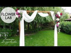 HOW TO DECORATE WEEDDING ARCH | DIY WEDDING DECOR