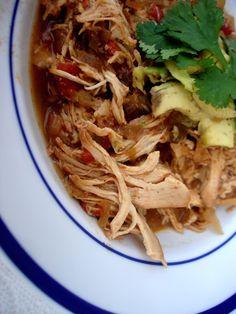 8. Enchillada Chicken Stew #paleo #crockpot #recipes…