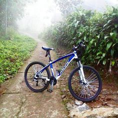 foto dari sang penembus kabut pacific umaga om @kakaradicalizm. hehe selamat pagi semua :) #pacificbikes #pacificbikerider #mountainbike #morning #fog #mountainbike #mtbindonesia #hardtail #crosscountry #morningfog #sepeda #sepedagunung #cycling