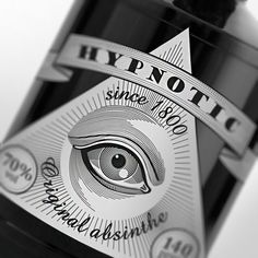 """Hypnotic """"Original Absinthe."""" I wonder if they can prove the 1800 line. Or does that mean """"Since 6 pm?"""""""