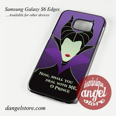 Maleficent Deals Phone Case for Samsung Galaxy S3/S4/S5/S6/S6 Edge