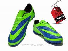 Chaussures de foot nike Hypervenom Phelon TF Vert Bleu Hypervenom Phelon Fg Cleats, Football, Shoes, Style, Fashion, Football Boots, Soccer, Swag, Moda