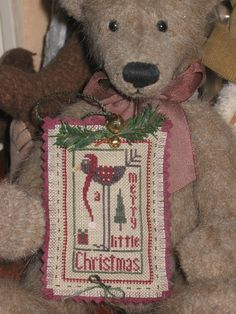 Christmas bird - Heart in Hand