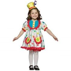 Rasta Imposta Childrens Costume Clown Girl 46x >>> Click on the image for additional details. (Note:Amazon affiliate link)