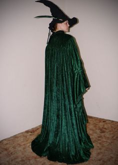 Sample costume commisioned by Whimsic Alley for reproduction.  Minerva McGonagall from the 1st movie.