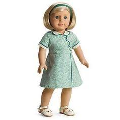AMERICAN GIRL KIT BIRTHDAY DRESS NIB DOLL NOT INCLUDED RETIR RUTHIE MOLLY EMILY  #AmericanGirl #AuthenticAmericanGirl