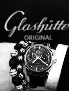 Glashütte time , Sprinkled with Nialaya bracelets