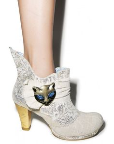 Irregular Choice Miaow Boots | Dolls Kill