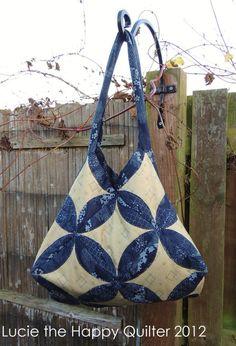 Japanese Folded Patchwork Bag