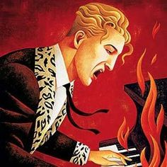Jerry Lee Lewis at the piano Jerry Lee Lewis Wife, Piano Y Violin, Expressive Art, Music Images, Rhythm And Blues, Country Artists, Concert Posters, Art Music, Musical