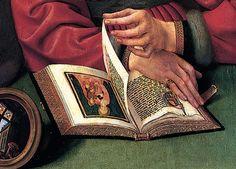 Part [The Moneylender and his Wife] (1514) Oil on panel, 71 x 68 cm Musée du Louvre, Paris.