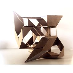 Line - Plane - Void Selen Guest - Tattoo Ideen - Diy Conceptual Model Architecture, Folding Architecture, Parametric Architecture, Museum Architecture, Space Architecture, Stand Modular, Folding Structure, Module Design, Origami
