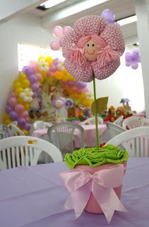 Magrelas Festas Infantis - contato: luisditter@terra.com.br F:3059-4005: Festa da Eduarda - Tema Bonecas!!