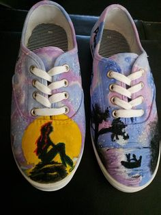b8455002dcaf6e The Cat in The Hat Custom Painted Shoes - Thing One and Thing Two Dr Suess
