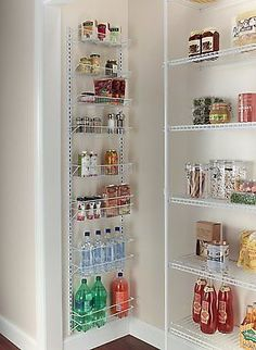 Adding Tons Of Pantry Storage Function Pantry Shelves and Doors