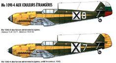 Bulgarian Air Force Messerscmitt Bf 109E