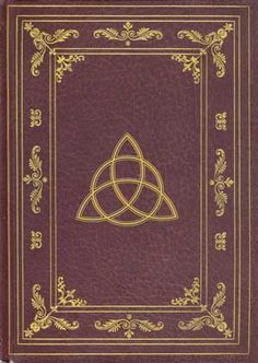 Marked on the front and back with a floral patterned border and a central Triquetra, the symbol of the Mother, Maiden, and Crone, this journal is perfect for both budding and experienced Witches. It m