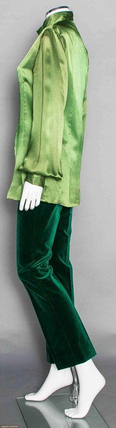 Apple Boutique Green Top & Pants, 1968, Augusta Auctions, November 12, 2014, Lot 254