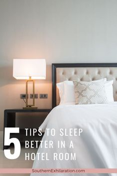 Getting a good night's sleep in a hotel can be challenging, but the right environment makes it possible to sleep well in a hotel.