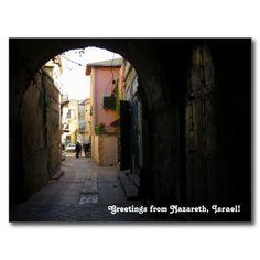 Nazareth Street View Postcard