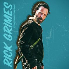Rick Grimes. He's been a great lead character since we saw him waking up from a coma in the pilot episode.