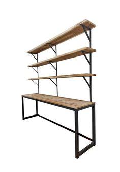 Desk and Shelves