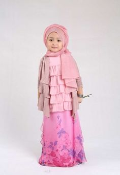 Baby hijab Young Beautiful Hijabi in The Worlds Hijabers Cilik Cantik Sedunia hijabcornerid.com/