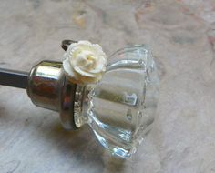 Vintage 20 30' 's Deco PreBan Ivory Rose Ring Fall by WillowBloom, $34.50