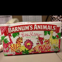 Lilly Pulitzer animal crackers!