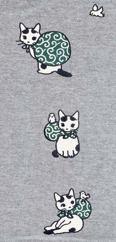 T-shirt by Pottering Cat