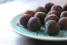 Raw Cacao Mint Truffles