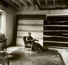 Artist XXè - Paul Klee in his  studio