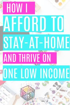 How to Afford to be a Stay at Home Mom on One Income. The best tips for how to afford to be a stay at home mom even if you're living on one low income. Save Money On Groceries, Ways To Save Money, How To Make Money, Groceries Budget, Stay At Home Mom, Make Money From Home, Money Saving Mom, Frugal Living Tips, Tight Budget