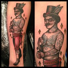 Tattoo by Mitch Allenden