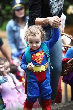 Little Super Man at the ECC Halloween event